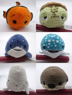 Finding Dory Tsum Tsum Collection Preview