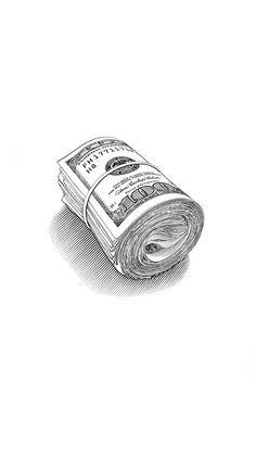 Drawing Wallpaper, Cool Wallpaper, Mobile Wallpaper, Wallpaper Backgrounds, Dope Wallpapers, Aesthetic Wallpapers, Black Girl Art, Art Girl, Money Wallpaper Iphone
