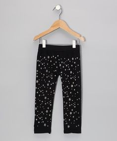 Take a look at this Black Star Leggings by S.W.A.K. on #zulily today!