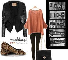 bag - broshka.pl flats - broshka.pl sweater - zara jacket - top shop jeans - big star