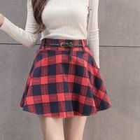 Campus wind Casual autumn and winter women Elastic waistband fashion