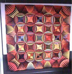 Indian Orange Peel Quilt...Karen K. Stone's pattern