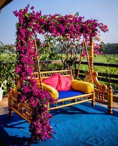 Desi Wedding Decor, Luxury Wedding Decor, Wedding Reception Backdrop, Floral Wedding Decorations, Backdrop Decorations, Backdrops, Wedding Signs, Wedding Ideas, Mehendi Decor Ideas