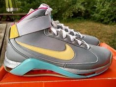 Nike Mag - Latest Nike Mag for Sales #nike #nikemag Nike Mag, Jordan Cp3, Ralph Sampson, Jordan 1 Retro High, Back To The Future, Sneakers Nike, Best Deals, Pink, Blue
