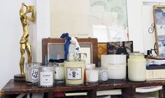 Dyptique, Astier de Villate, Byredo, Cire Trudon, Joe Malone, Penhaligons... Morgane collectionne les bougies.