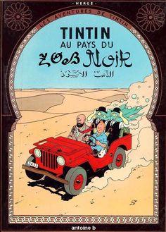 Les Aventures de Tintin - Album Imaginaire - Tintin au Pays du Zob Noir