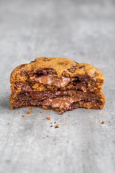 Fondant, American Desserts, Angel Cake, Number Cakes, Vegan Dessert Recipes, Brownie Cookies, Cookies Et Biscuits, Biscotti, Banana Bread
