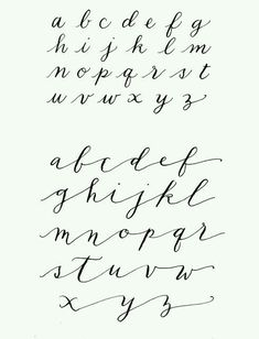 Calligraphy hand written fonts handwritten brush style modern calligraphy cursive typeface lettering vector font alphabet set of vector letters written with a pen vector illustrations Alphabet Cursif, Hand Lettering Alphabet, Typography Letters, Brush Lettering, Lettering Styles, Script Alphabet, Alphabet Style, Tattoo Alphabet, Handwriting Fonts Alphabet