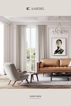 Classic Living Room, My Living Room, Home And Living, Living Room Decor, Bedroom Decor, Living Room Inspiration, Home Decor Trends, Stores, Home Interior Design