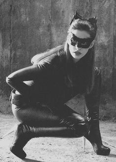 Ann Hathaway as Catwoman in 'The Dark Knight Rises', 2012.