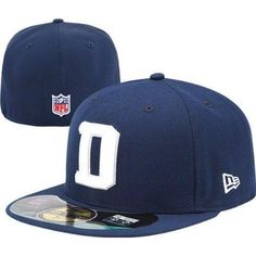 New Era Dallas Cowboys NFL Sideline D 59FIFTY Fitted Hat 7 1/8 1/4 3/8 1/2 5/8