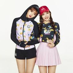 TWICE X NBA KOREA  #Twice #트와이스 #Nayeon #나연 #Jeongyeon #정연 #NBA