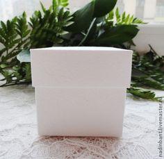 Коробка белая Основа - белый,коробочка,коробка,упаковка,основа для творчества