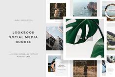 ALMA Social Media Bundle by Angkalimabelas on @creativemarket