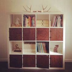 add doors to EXPEDIT shelving unit, $179