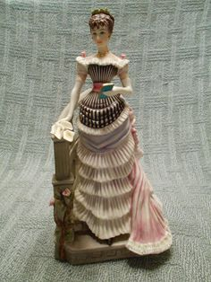 """Vintage 1961 Royal Worcester """"Louisa"""" Victorian Series Figurine"""