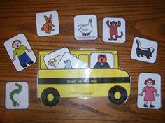 Story Retelling Activity for Seals on the Bus from Making Learning Fun. Retelling Activities, Drama Activities, Kids Learning Activities, Fun Learning, Teaching Ideas, Preschool Songs, Preschool Curriculum, Preschool Crafts, Kindergarten