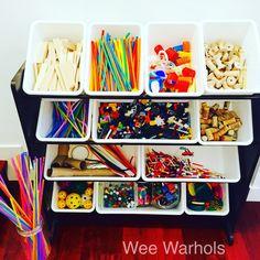 STEAM, STEM, STEAM on a budget, inexpensive STEAM supplies, Wee Warhols, Austin