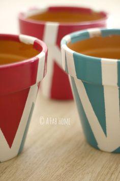 #DIY Tutorial per dipingere i vasi di terracotta