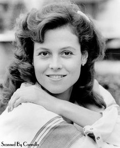 Sigourney Weaver - H's jaw line is different as is the hair, but it's pretty close.