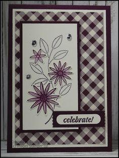 Stampin' Up! Grateful Bunch -King's On Paddington: Blackberry Blossoms ...