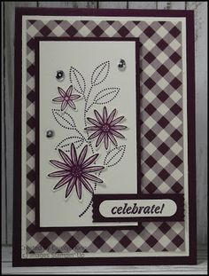Stampin' Up! Grateful Bunch -King's On Paddington: Blackberry Blossoms ...