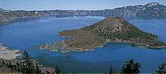 Crater Lake. I should go see it again. I was just 9 when I visited it the first time.