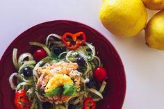 Tagliatelle de Zucchini
