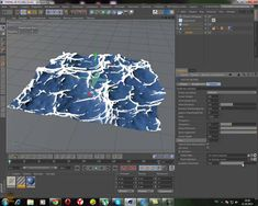 how to create the sea object : CINEMA 4D