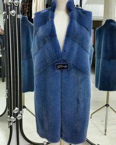 Mink fur waistcoat