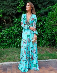 Love this boho style dress