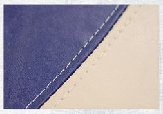 Learn how to sew a French seam for leather, faux leather, or vinyl work like in boat or auto upholstery.