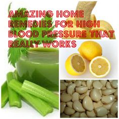 Love to try these amazing home remedies for high blood pressure... These might really works for me...