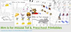 Free Printable: Mm is for Mouse Tot & Preschool Pack - All Our Days Preschool Rules, Preschool Themes, Preschool Printables, Free Printables, Preschool Farm, Letter M Activities, Alphabet Activities, Classroom Activities, Classroom Ideas
