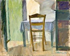 I can never come up with what to say so here are some words that I love from Leonard Cohen:ring the bells that still can ringforget your perfect offering- there is a crack in everything that's how the light gets in ~leonard. Painter Artist, Leonard Cohen, Painters, Cool Art, Landscapes, Chairs, Pastel, Museum, Rooms