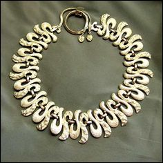 Monet necklace from the 1970s