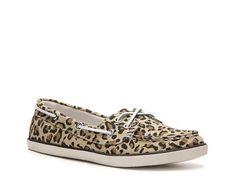 Rock & Candy Boatie Leopard Boat Shoe Flats Women's Shoes - DSW