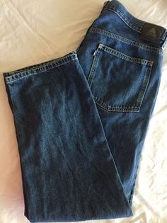 Levi Silvertab Relaxed Jeans Denim Levis Mens Label W 38 L 32 Actual W 40  L 32 #Levis #Relaxed