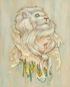 Daniel Lion Roar by Camilla D'Errico | Eyes On Walls
