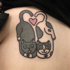 #tattoofriday - Tatuagens divertidas e com traços bold de Panther Tattoo Jiran;