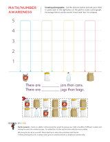 Pictographs are a great precursor to graphing. Challenge your child to cut out the shapes and then paste them in the correct rows. Then don't forget to ask him to make comparisons about the different number of items he sees. Graphing Activities, Free Kindergarten Worksheets, Math Worksheets, Picture Graph Worksheets, Texas Teks, Types Of Graphs, Maths, Lesson Plans, School Stuff
