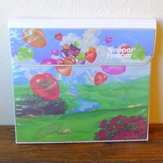 Vintage-Mead-Trapper-Keeper-Notebook-Heart-Balloons-Design