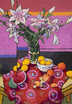 Ventana Fine Art Gallery in Santa Fe NM offers some of the best quality American contemporary Artwork for sale. Acrylic Painting Flowers, Abstract Flowers, Contemporary Artwork, Contemporary Artists, Oil Painting App, Wilson Art, Santa Fe Nm, Still Life Art, Traditional Paintings