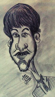 Caricatura de Diego Luna