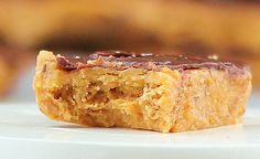 """""""Better""""fingers * healthy spin on Butterfingers with all the creamy peanut-y goodness * HAPPY HALLOWEEN"""