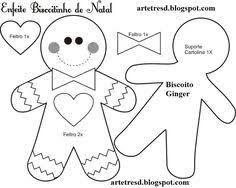 Resultado de imagen de moldes o patrones de papa noel