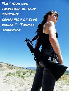 Do you take your gun with you everywhere?