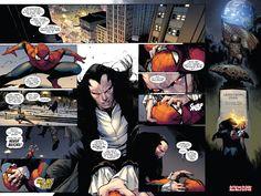 It's Morlun in Amazing Spider-Man #9 (Spider-Verse Part 1)