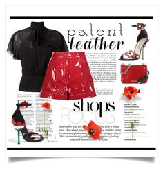 """""""Popping City Slicker"""" by conch-lady ❤ liked on Polyvore featuring H&M, Miu Miu, RED Valentino, Valentino and Prada"""