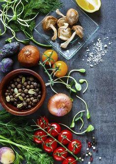 Cuisine végétarienne Vegetables, Food, Vegetarian Food, Greedy People, Veggies, Essen, Vegetable Recipes, Yemek, Meals
